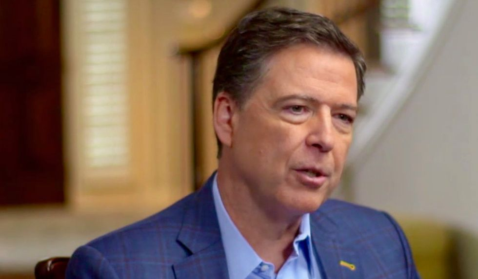 Ex-Republican James Comey urges Americans to vote Democrat to save the country