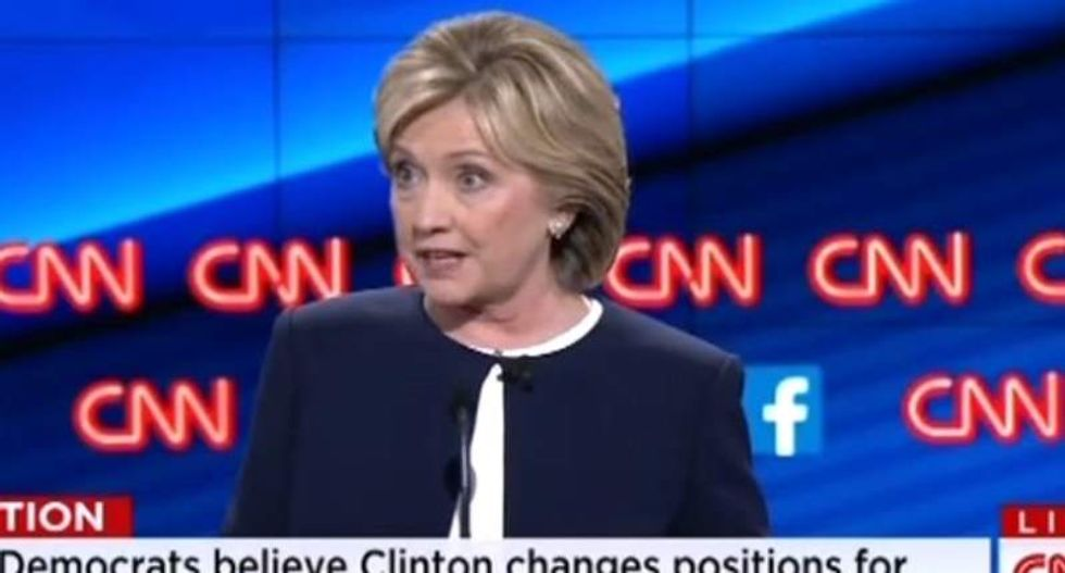 Fireworks fly as Hillary hits Bernie Sanders over gun control: 'He's not tough enough!'