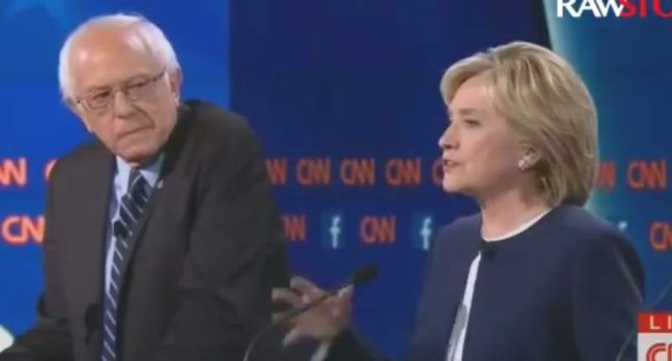 Hillary Clinton jabs at Bernie Sanders' socialism: What US needs to do is 'save capitalism from itself'