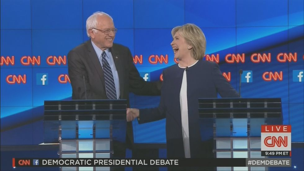 Bernie Sanders defends Clinton: Americans are 'tired of hearing about your damn emails'