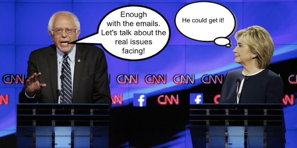 How Bernie Sanders Won Hillary's Vote & 13 other Deep Thoughts on the Democratic Debate