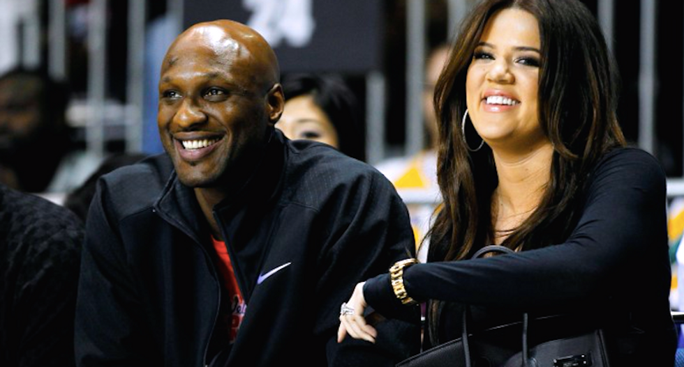 Ex-NBA star Odom reported critical, Kardashian at his side