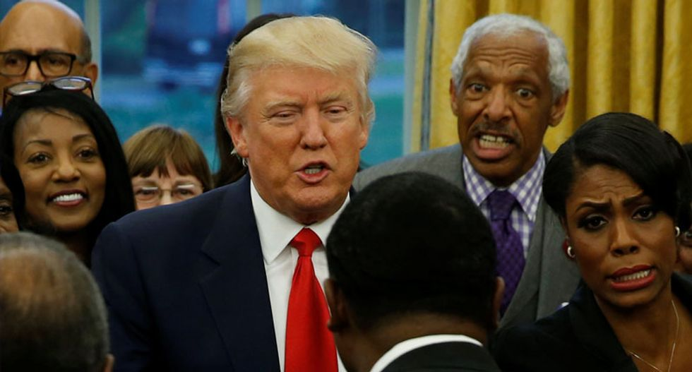 New report details Trump's racist behind-the-scenes comments about Black Americans