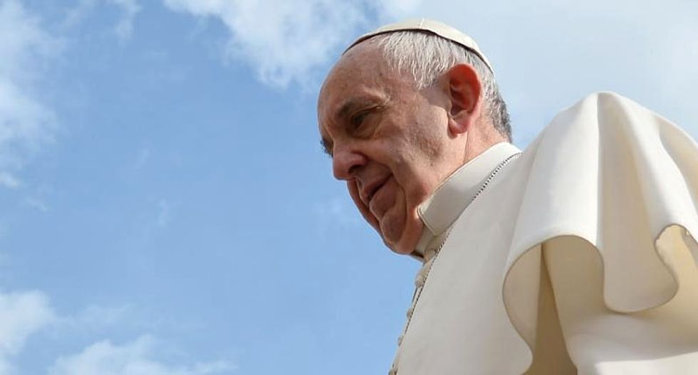Pope Francis claims 'greed is driving world to ruin'