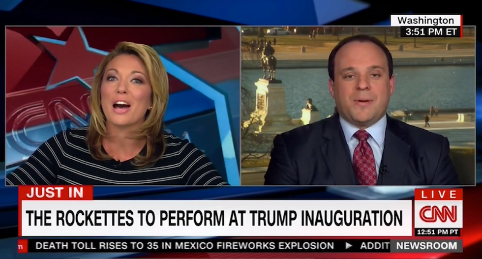 Trump adviser tries to spin way out of stars shunning inauguration: 'We're not putting on Woodstock'
