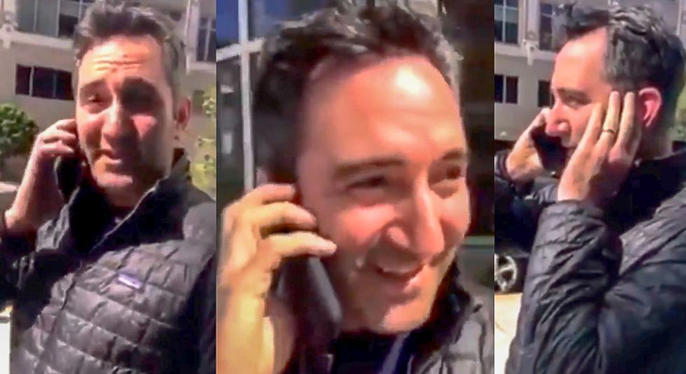 Video busts white man calling police on black engineer who was waiting outside apartment for disabled friend