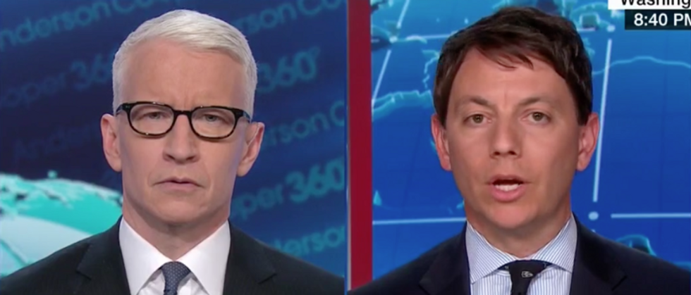 WATCH: Anderson Cooper pushes furious White House spokesperson Hogan Gidley over the edge by calling Trump a liar