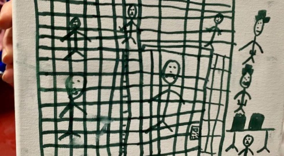 Smithsonian seeking child migrants' drawings of horrific detention to document 'history as it unfolds'