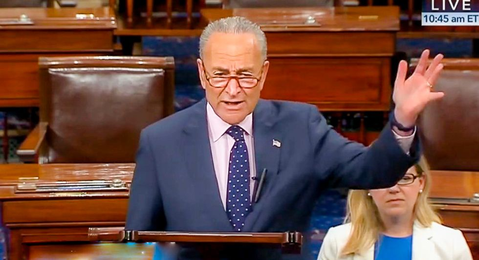 Schumer: If Trump can't handle a little criticism from Fox News then 'he doesn't deserve to be president'