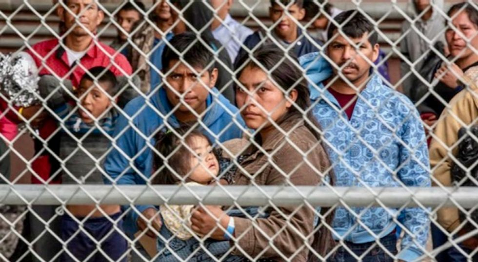 Call to action by journalists, academics urges Americans to use 'all nonviolent means necessary' to shut down Trump's detention camps