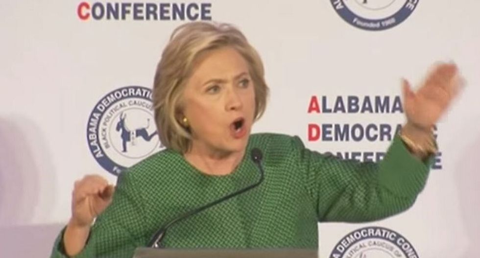 Hillary bashes closures of AL driver's license offices in black communities as 'blast from Jim Crow past'