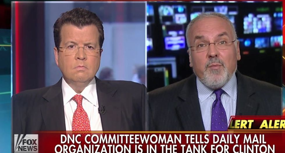 """Fox News guest: Democratic party run by 'estrogen cabal"""" who will crush anyone in Hillary's way"""