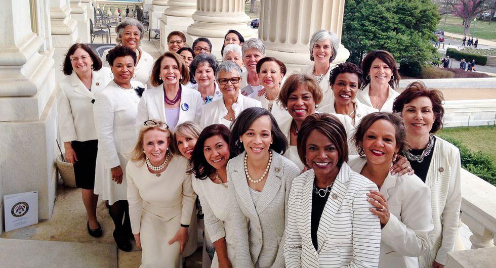 GOP lawmaker: Democratic women have 'disease' making them 'wear bad-looking white pantsuits'