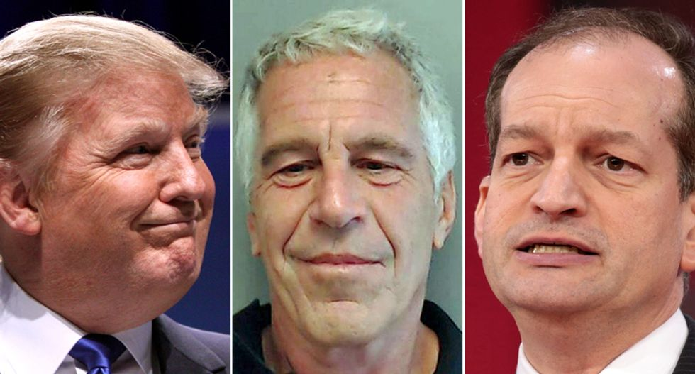 Trump biographer says the president 'admired Epstein's lifestyle' -- and warns of 'Pandora's box of embarrassing information'