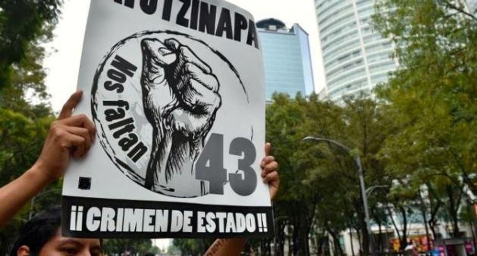 Film about missing Mexican students criticized for pro-government conclusions