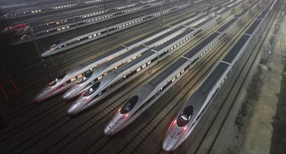 Chinese firms want to build and finance proposed California high-speed train