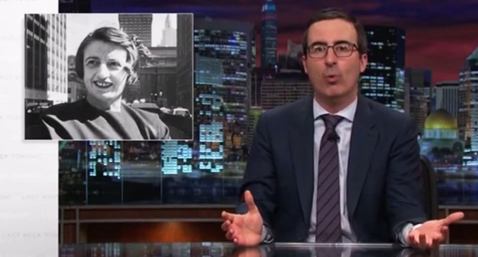 John Oliver rips politicians who use fake 'founding father' quotes — and it's hilarious
