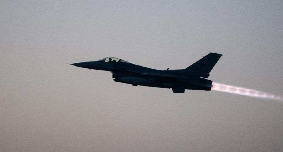 US F-16 struck by enemy fire in Afghanistan in rare attack