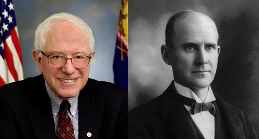 An historian compares Bernie Sanders and Eugene Debs -- and explains why the pundits are wrong