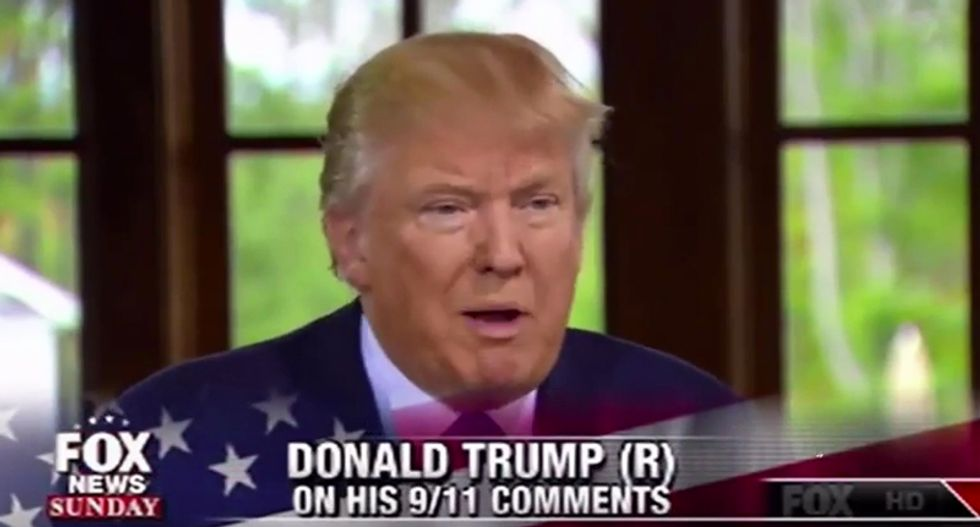 Donald Trump: There's a 'good chance' I would have stopped 9/11 because I'm tough on immigrants