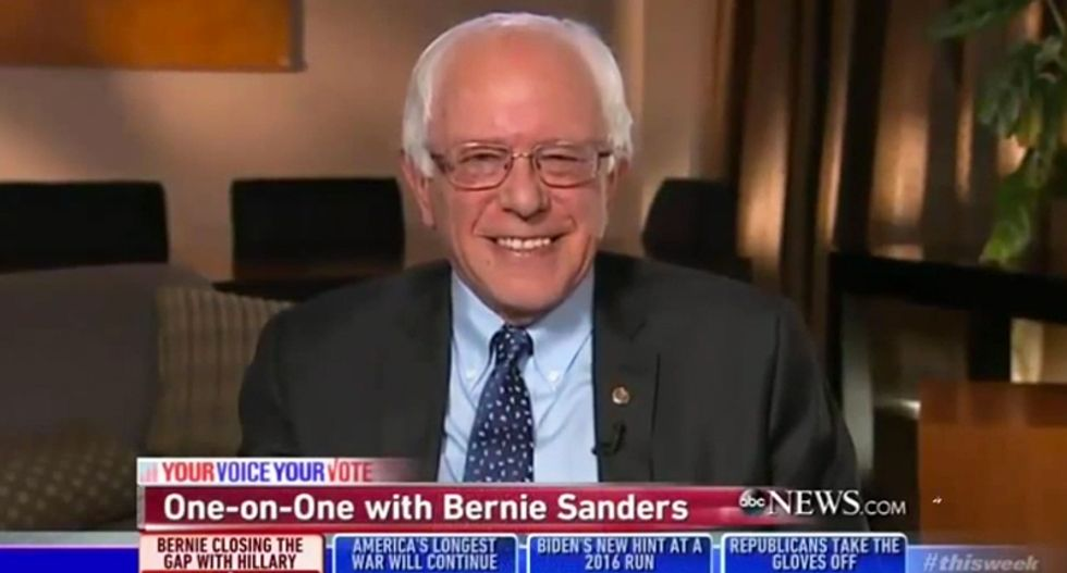 Bernie Sanders loves Larry David's impression and wants him on the campaign trail