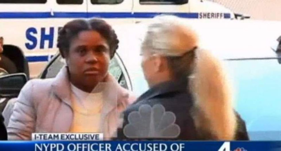 NYPD officer indicted for allegedly stealing home ownership from dead woman's family