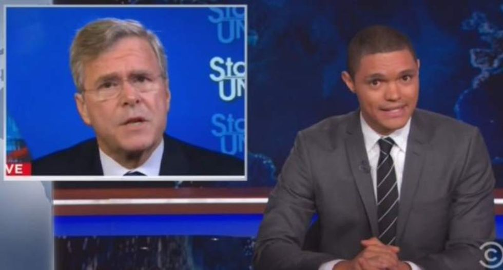 Noah defends Trump: Bush claiming we were safe on 9/11 is like saying 'I'm blackout drunk and cool to drive'