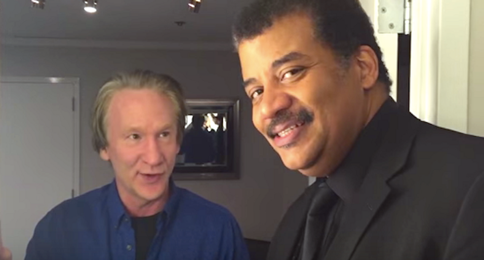 Neil deGrasse Tyson and Bill Maher agree: Let's fix this planet before venturing off to ruin new worlds