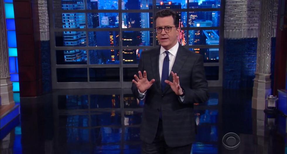 'The cabinet of broken Republican dreams': Stephen Colbert eviscerates Trump's healthcare failure