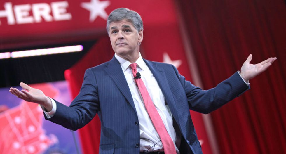 'It's a lie': Sean Hannity attacks Democrats saying Republicans are 'racist, sexist misogynists, homophobic, xenophobic, islamophobic'