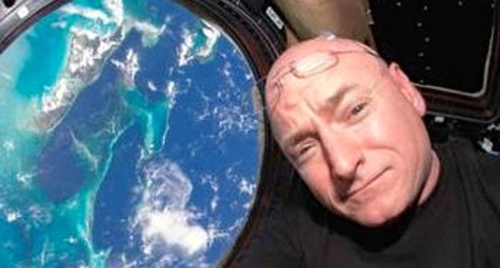 NASA astronaut Scott Kelly has now spent more time in space than any other American