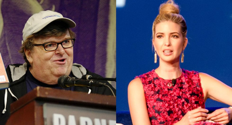 Michael Moore pens an open letter to Ivanka Trump: Your deranged dad needs serious help