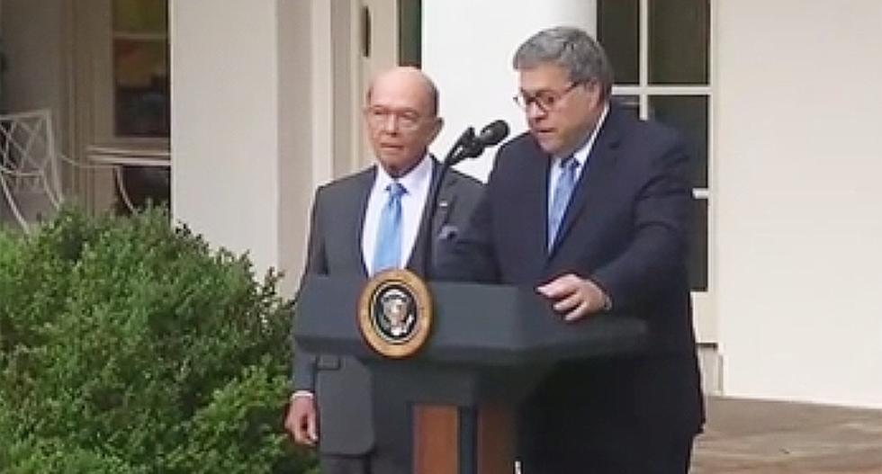 Bill Barr blames Commerce Secretary Wilbur Ross for reason Trump lost on 2020 Census