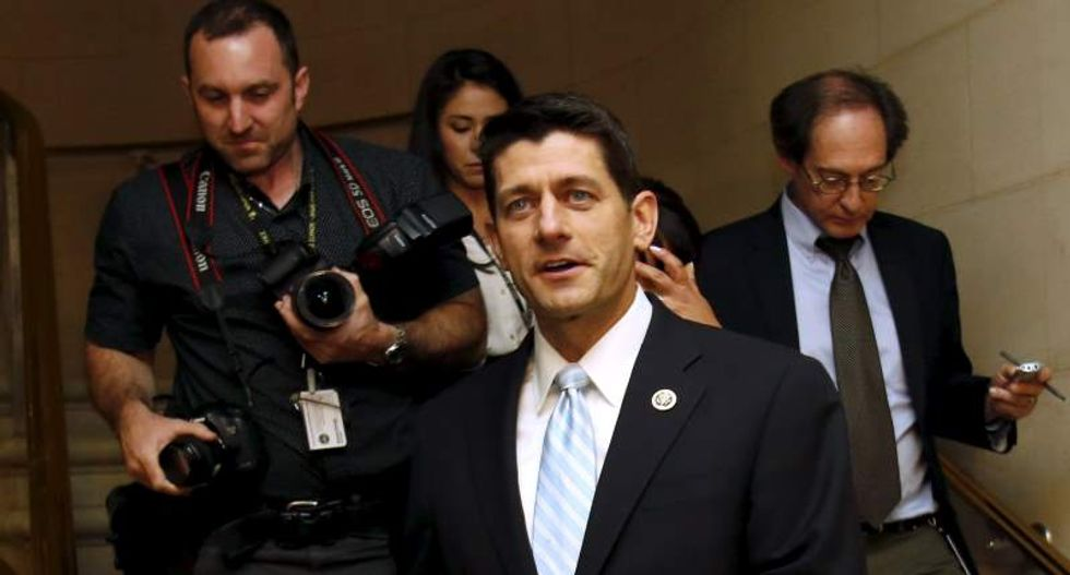 Paul Ryan tells House GOP: I'll run for Speaker if all of you fall in line behind me