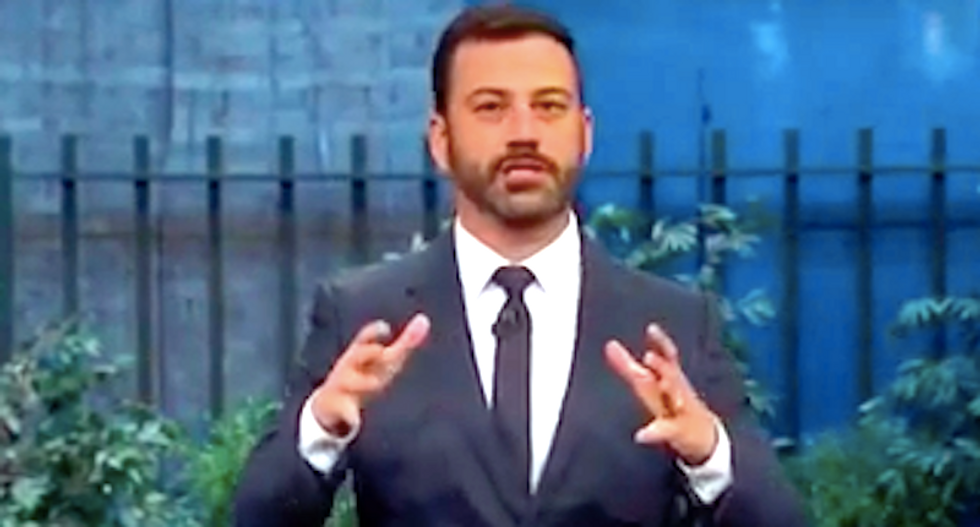 Jimmy Kimmel calls Trump a 'basketball dipped in cologne' after GOP frontrunner cancels appearance