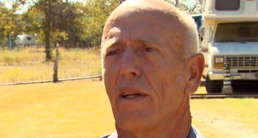 Texas police arrest man seen in viral video hitting motorcycle riders