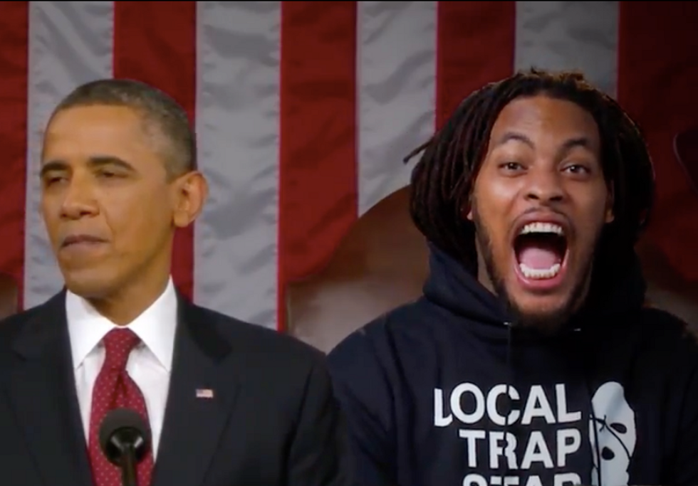 Rapper Waka Flocka Flame wants to be House Speaker: 'You don't want Paul Ryan, mall cop'