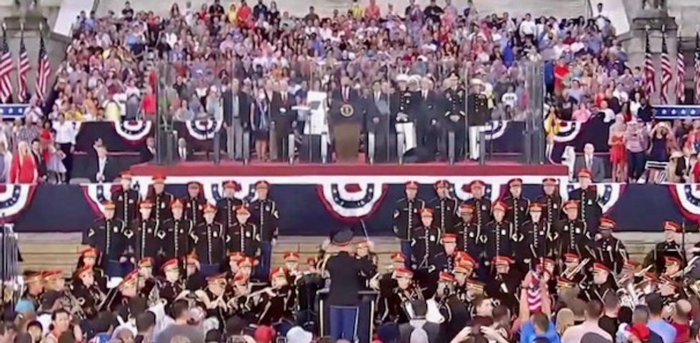 White House announces July 4 'Salute to America' featuring Trump speech on 'heritage' and 'military demonstrations'
