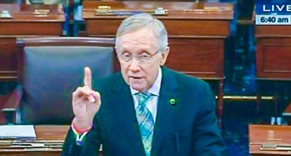 Senate Democrat Reid on House speaker job: I'm a Paul Ryan fan