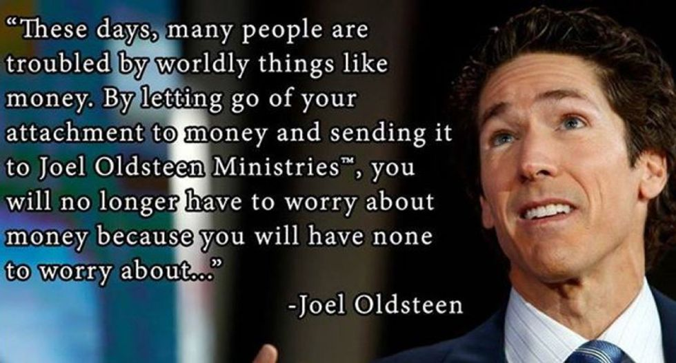 Internet troll impersonates evangelist Joel Osteen on his own Facebook page and the results are hilarious