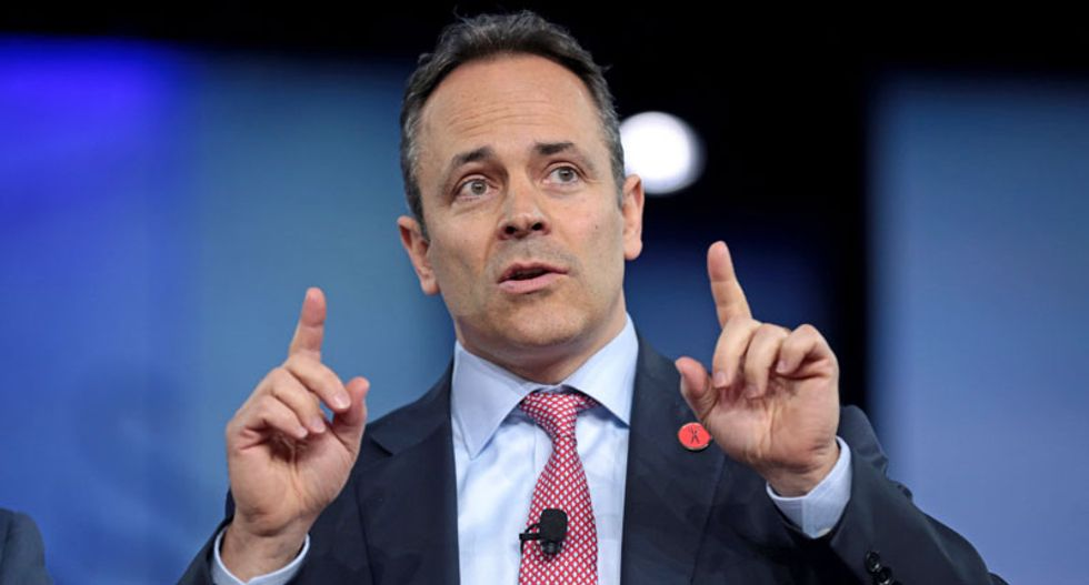 Kentucky Governor Matt Bevin blames shooting of 7-year-old on teachers' sickout