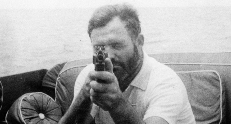 The glory days of tough-guy writer Ernest Hemingway