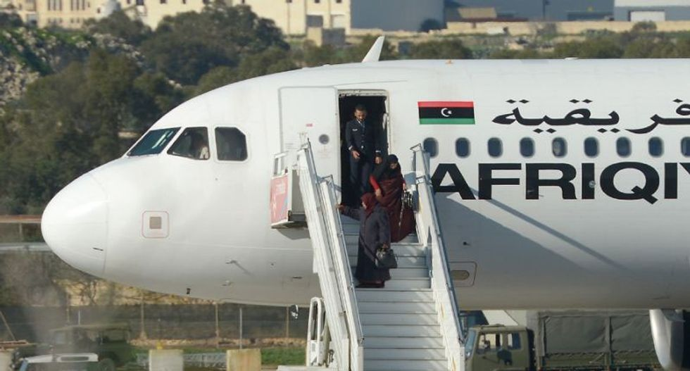 109 passengers released from hijacked Libyan plane: Maltese prime minister