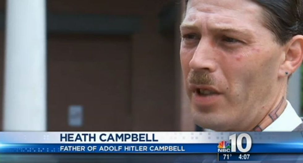 Hitler-loving New Jersey man wanted for aggravated assault