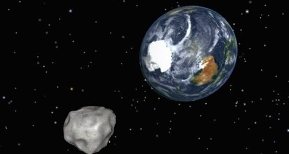 Halloween asteroid to shave past Earth