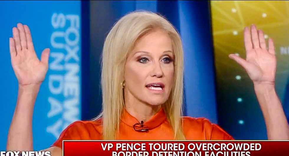 'It's a disaster': Chris Wallace shuts down Kellyanne Conway for lying about conditions in migrant jails