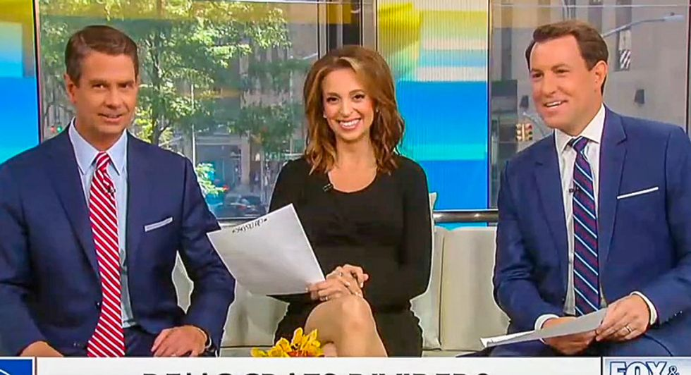 Fox & Friends hosts inspire racist Trump tweet -- and then laugh as they read it aloud