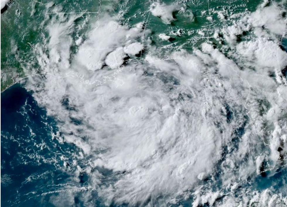 Barry now a hurricane as it approaches Louisiana coast