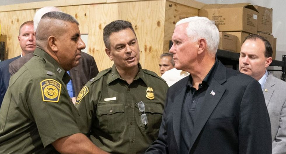 Mike Pence labeled a 'fake Christian' for defending inhumane conditions at Trump's concentration camps