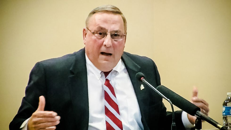 Maine woman exposes Tea Party Gov. Paul LePage's ignorance on expanding Medicaid